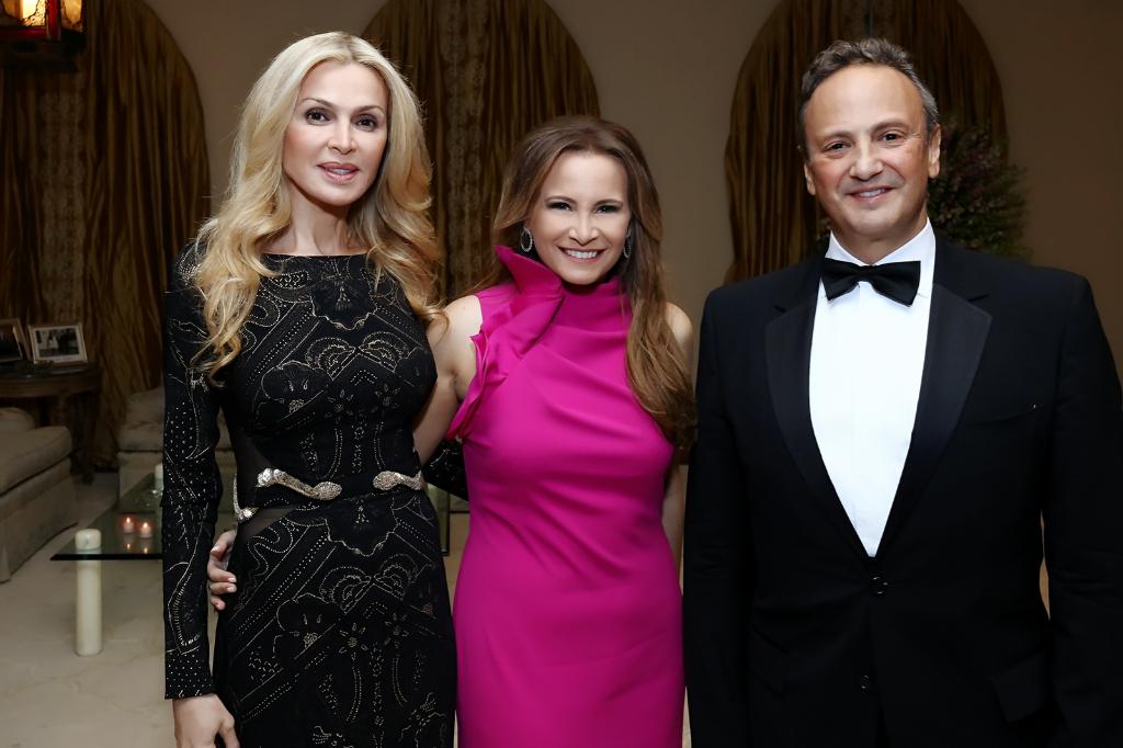 3 Tania Kassis with Kuwait Ambassador Sheikh Salem al Sabah & his wife Sheikha Rima al Sabah