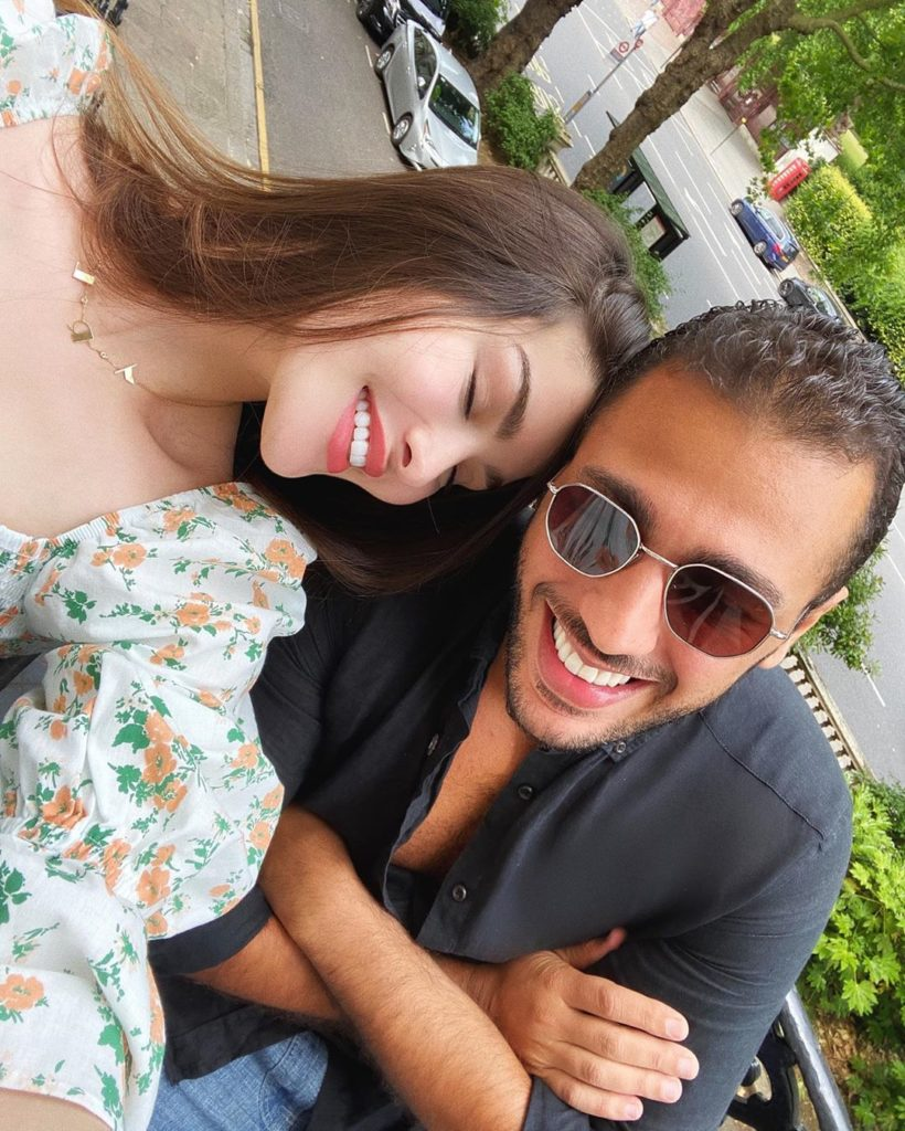 موقع بصراحة موقع النجوم بالصورة روان بن حسين تغازل زوجها وتضع حد ا للإشاعات